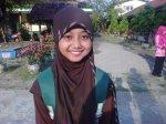 Firliana Rosa Damayanti, peraih nilai UN tertinggi SMP 1 Sragi
